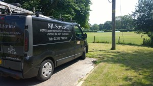 Our van, all ready to go for the day.